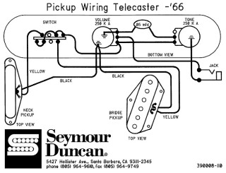 fender telecaster | supersmall, Wiring diagram