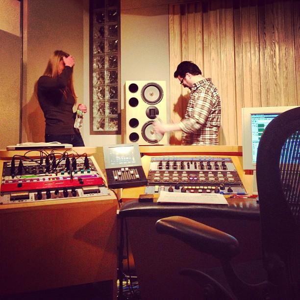 Record Mixing Party! Audio Engine Studios, NYC.