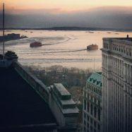 Roof of Mastering Studio, Downtown Manhattan.