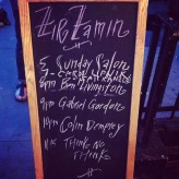 First ever Supersmall gig @ ZirZamin.