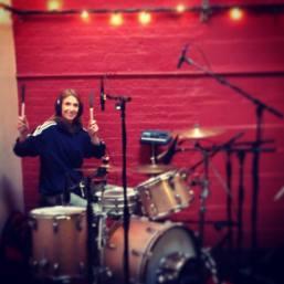 Upbeat drummer (pun intended)