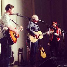 Colin, Joe & Rosanne Cash, NYC.