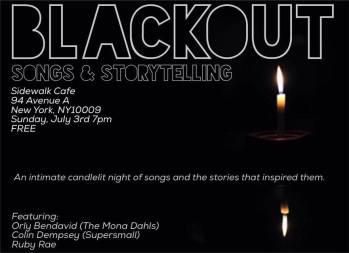 Blackout Series, NY.