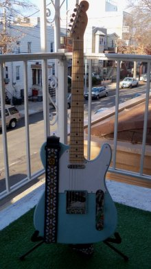 Homemade Telecaster, used on This Other World.