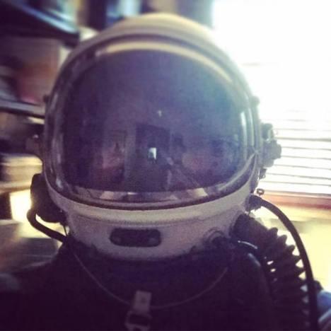 Actual Space Helmet!